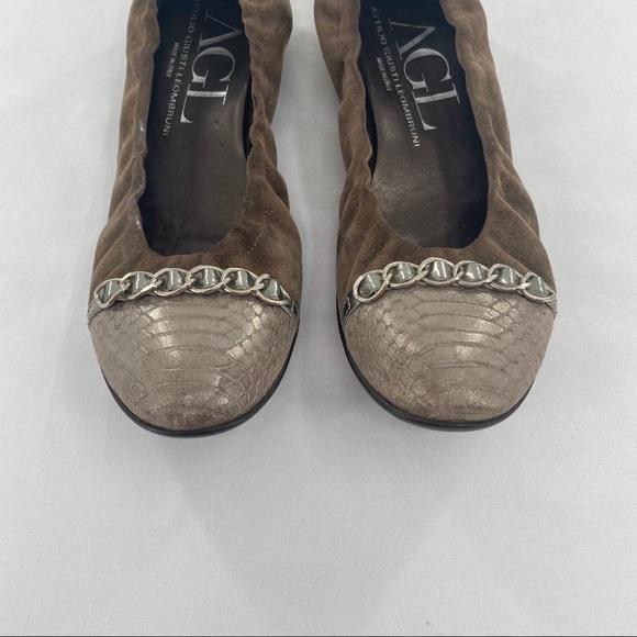 Attilio Giusti Leombruni Shoes   Agl Gold Black Cap Toe